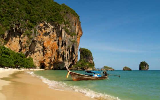пляж, таиланд, railay