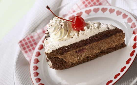 торта, кусочек, кусок, сладкое, eда, пирожное, тортик,