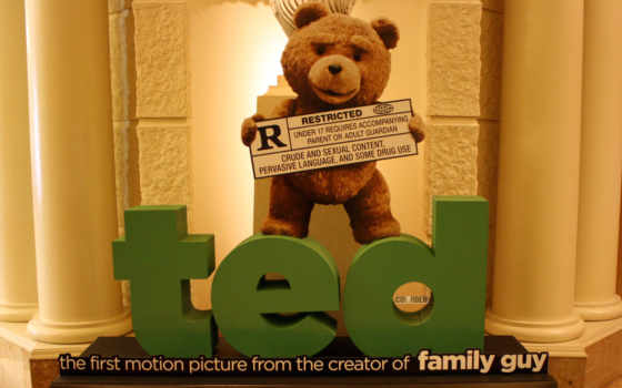 ted, película, third, extra, pantalla, que, fondos, су, por,