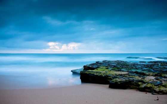 море, rising, солнца, sun, рассвет, небо, water, ocean, океана, берегу,