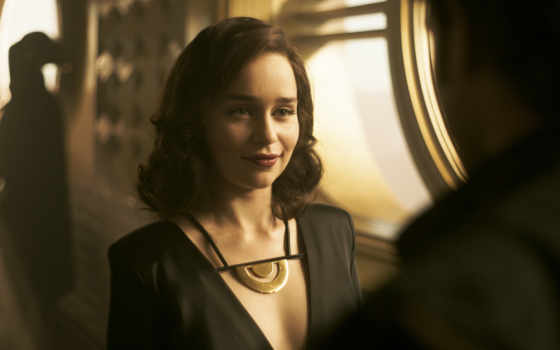 emilia, clarke, solo, qira, star, wars, story, movie, ци,