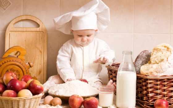 chef, baby, ребенок, шляпа, cute, small, детишки,