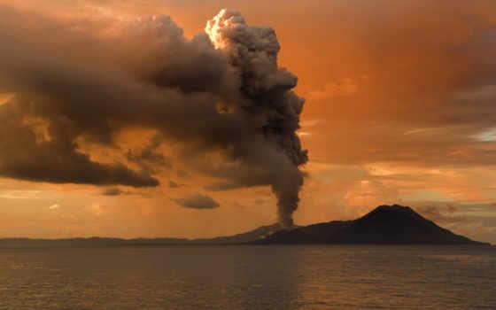 вулкан, volcanoes, большой
