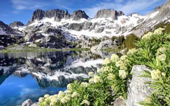 озеро, iceberg, ediza, коллекция, минареты, природы, природа, количество, ansel,