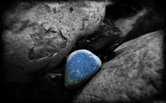чёрно, элементами, цветными, белые, белое, фотографий, color, камни,