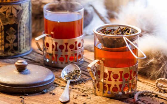 чая, плед, напиток, hot, cup
