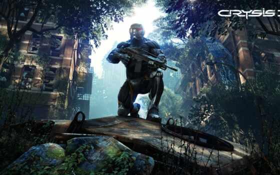 crysis, game, official, солдат, york, new, оружие, announce, company, проект