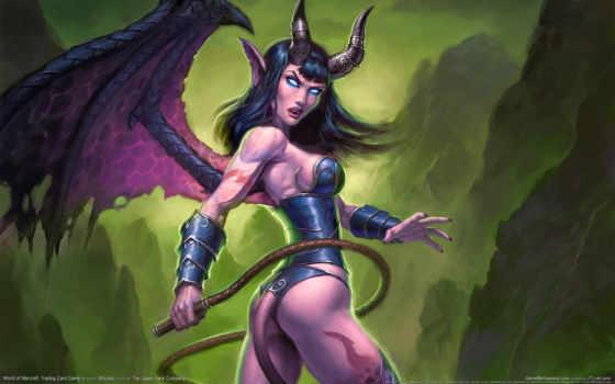 warcraft, world, game, демонеса, изображение, игры, картинку, games, fantasy, картинка, girl,