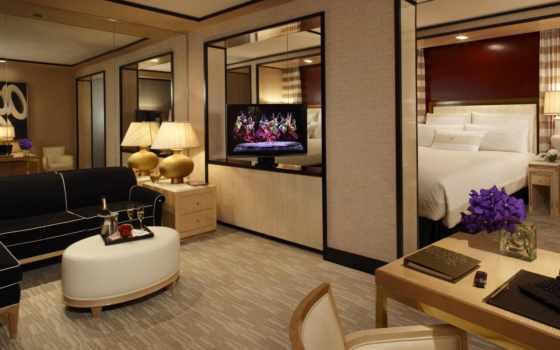 комната, дизайн, стиль, квартира, интерьер, простор, диван, кресло, телевизор, кровать, цветы, уют, растения, листья, спальня, hotel, лампа,