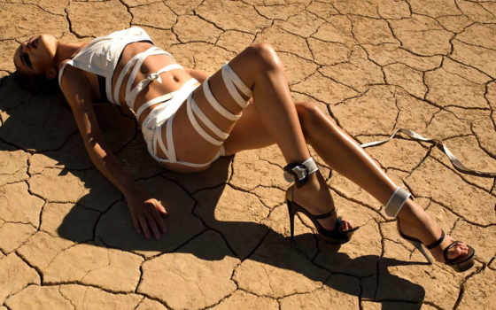 пустыне, девушка, платье, devushki, пустыня, bling,