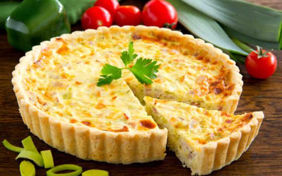 quiche, recette, ест, блюда, lorraine, une, pâte, au, recettes,