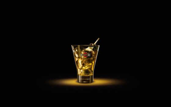 мартини, стакан