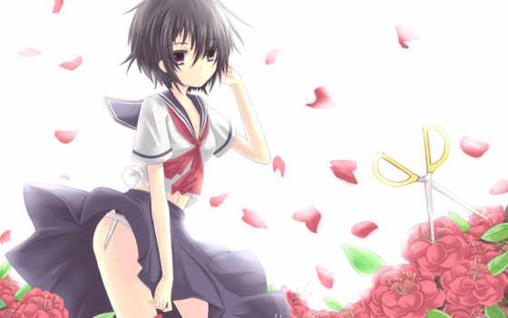kanojo, nazo, urabe, девушка, mikoto, girlfriend, mysterious,