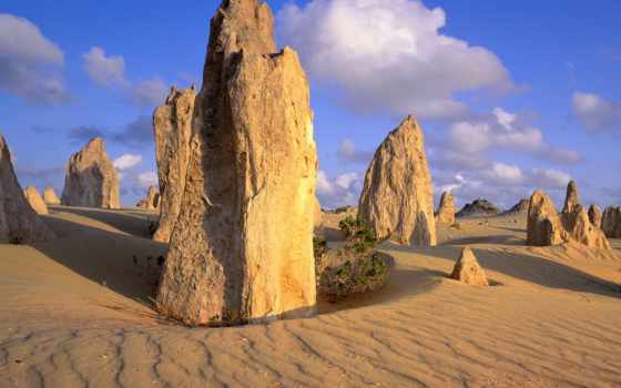 пустыня, австралия, пиннакли