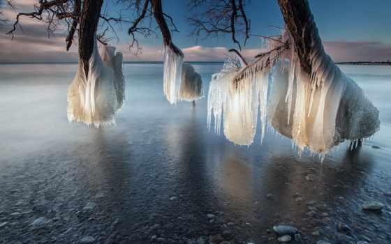 природа, лед, amazing, spectacular,, life,