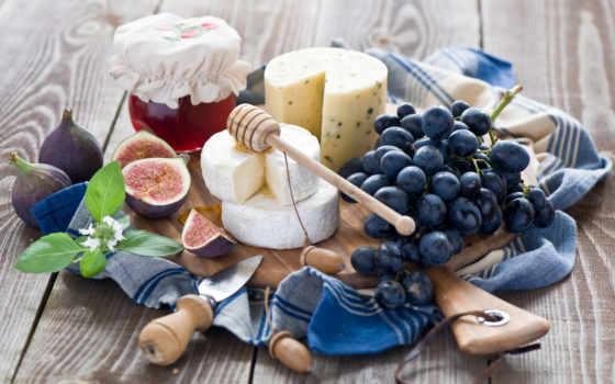 еда, натюрморт, фиг, еды, вердиной, анны, виноград, фотографий, картинка, красивые, сыры,