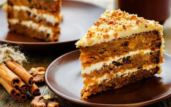 морковь, день, kremem, торт, ciasto, utonut,