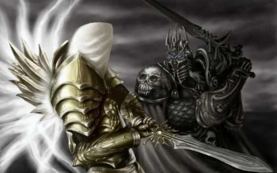 warcraft, archangel, diablo, artha, tyrael, герой, буря, лич, king, justice, menethil