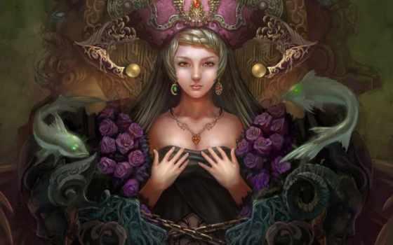 fantasy, арт, девушка