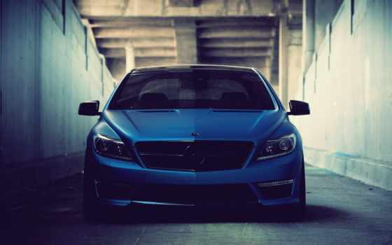 mercedes, benz, blue