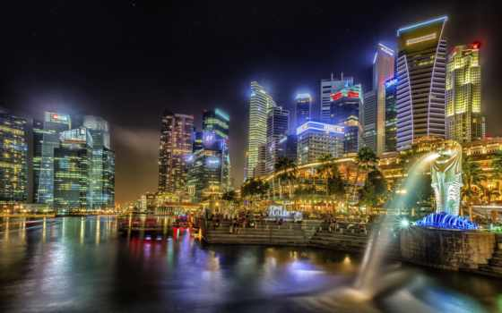 город, singapore, mobi