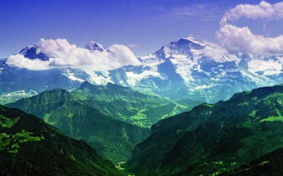 швейцария, альпы