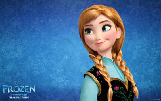 frozen, анна, happy
