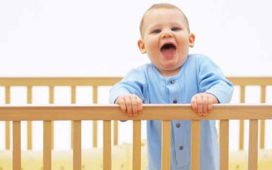 ребенка, кроватке, ребенок, малыш, children, лицо, кроватки, зубы, настроения, choose,