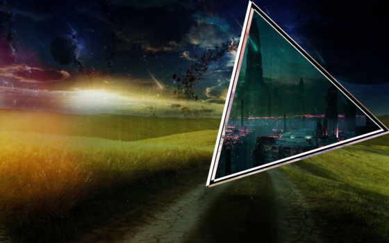 город, cyber, портал, fantasy, поле, pin, pinterest, космос,