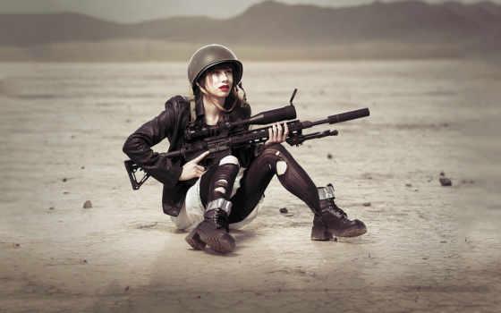 снайпер, снайперы, devushki, винтовки, оружие, девушка, солдат, винтовка, армия, full,