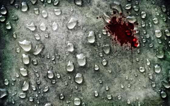 glass, капли, зелёный, water, кровь, кровавая, waters, spot, эльфийка, кровавое,