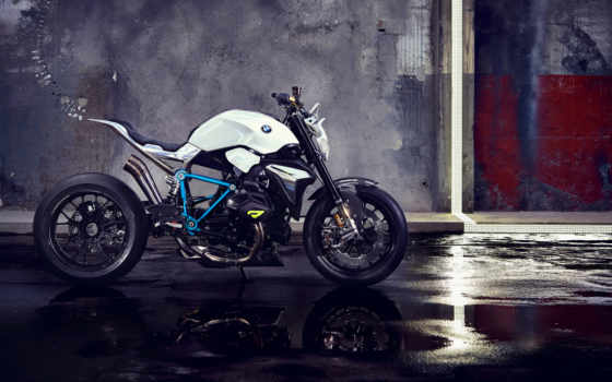 bmw, мотоцикл, bikes, concept, roadster, motorcycles, low, led, фара,