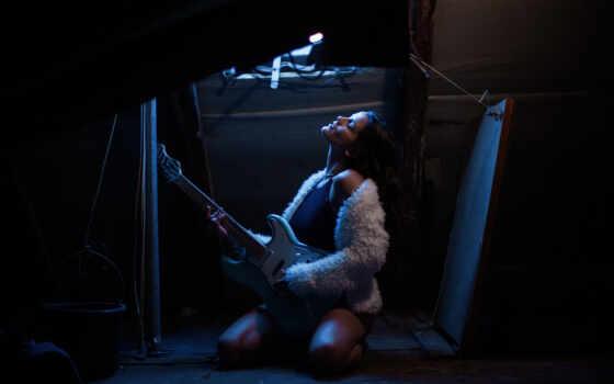 stage, музыка, музы, love, performance, guitarist, instrument, гитара, модель, женщина