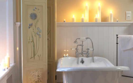 ванной, свет, комнаты