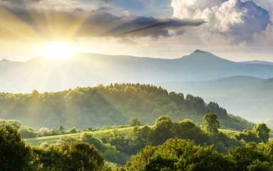небо, природа, landscape