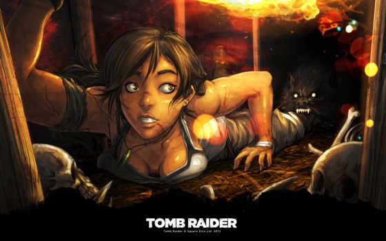 tomb, raider, ссылка, art, игры, крофт,