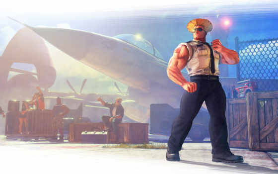 истребитель, улица, guile, capcom, характер, has, new, dlc,