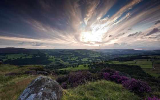 природа, небо, hills, гора, первую, landscape, hill, desktop,