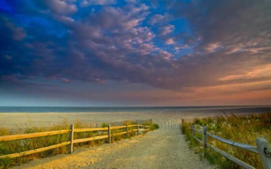 playa, fondos, pantalla, carretera, fondo, arena, мар, cielo, янв,