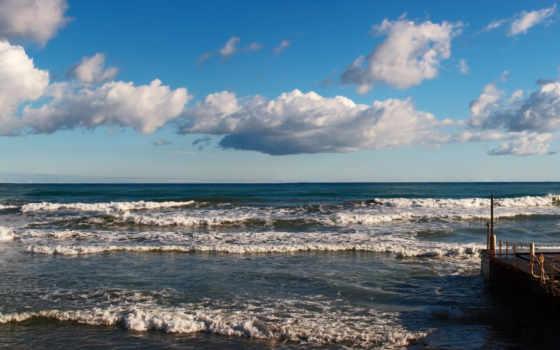 bulut, ocean, gittigidiyor, море, панорама, modeller, zellikler, uygun, ile