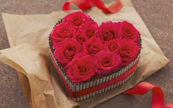 девушка, дар, love, give, romantic