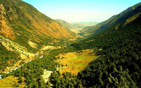 природа, горы, красивая