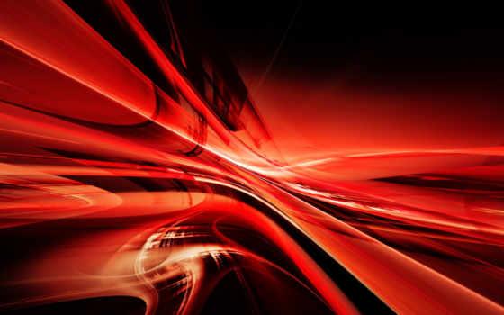 узор, красный, линии, абстракция,