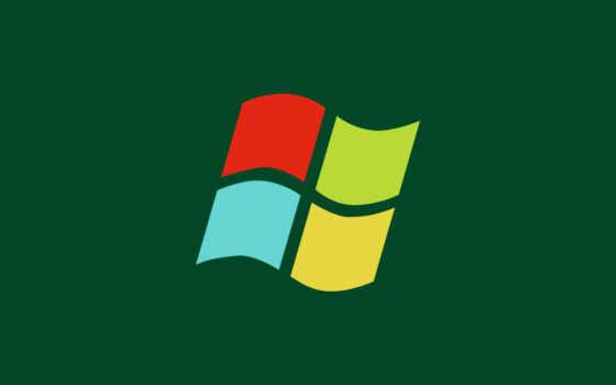 windows, logo, минимализм