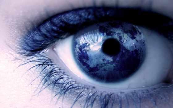 глаз, девушка