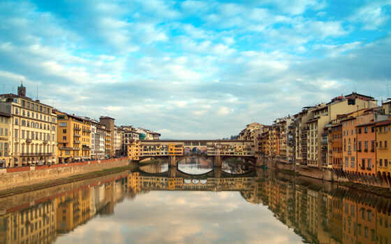 italy, florence, vecchio, ponte, firenze, italian, мост, старый,
