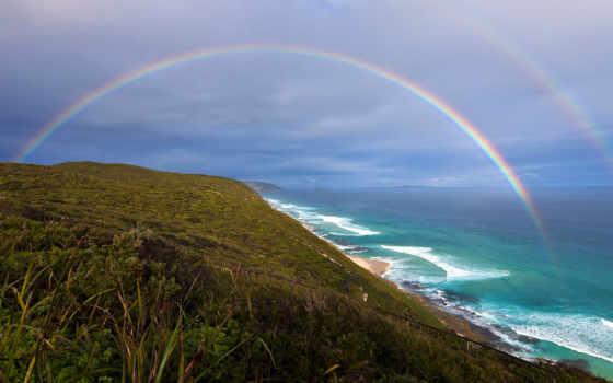 море, берег, побережье, красивые, природа, тучи, горизонт, картинка, природы, oblaka, ocean,