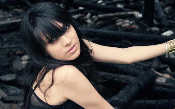 волосами, волосы, devushki, длинными, черными, девушка, прически, длинные, длинных, волос,