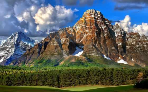 горы, красавица, гор, ослепительная,