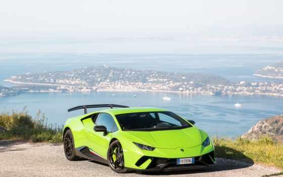 car, huracan, aventador, зелёный, performante, суперкар, vehicle, спорт, techdredy, facebook